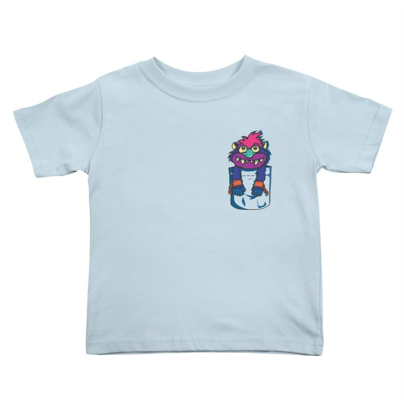 Monster In My Pocket Kids Toddler T-Shirt by wotto's Artist Shop