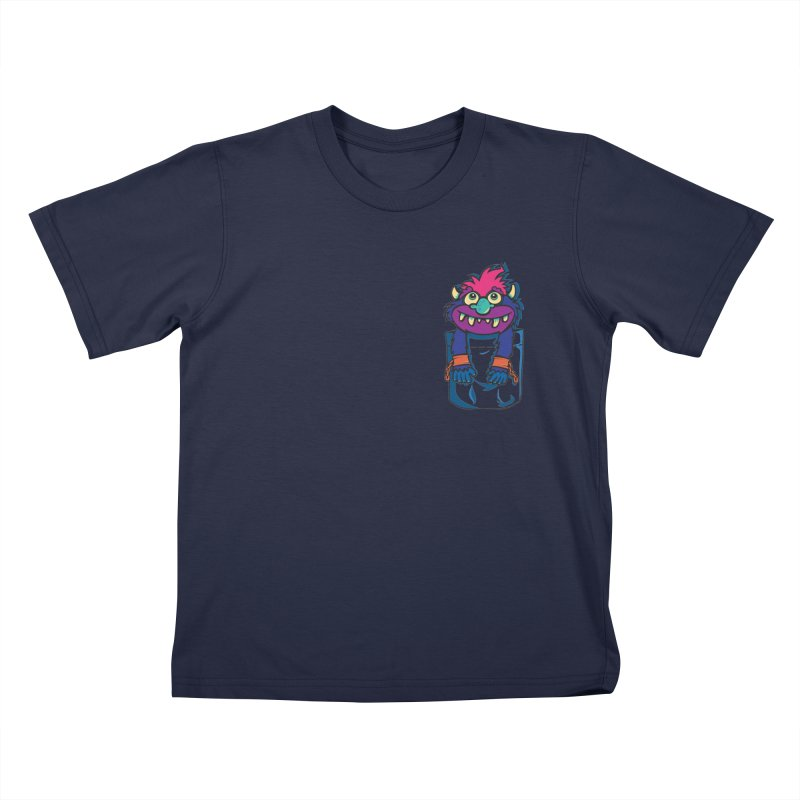 Monster In My Pocket Kids T-Shirt by wotto's Artist Shop