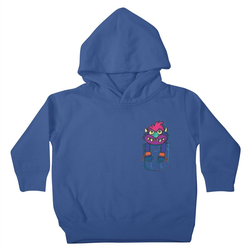 Monster In My Pocket Kids Toddler Pullover Hoody by wotto's Artist Shop