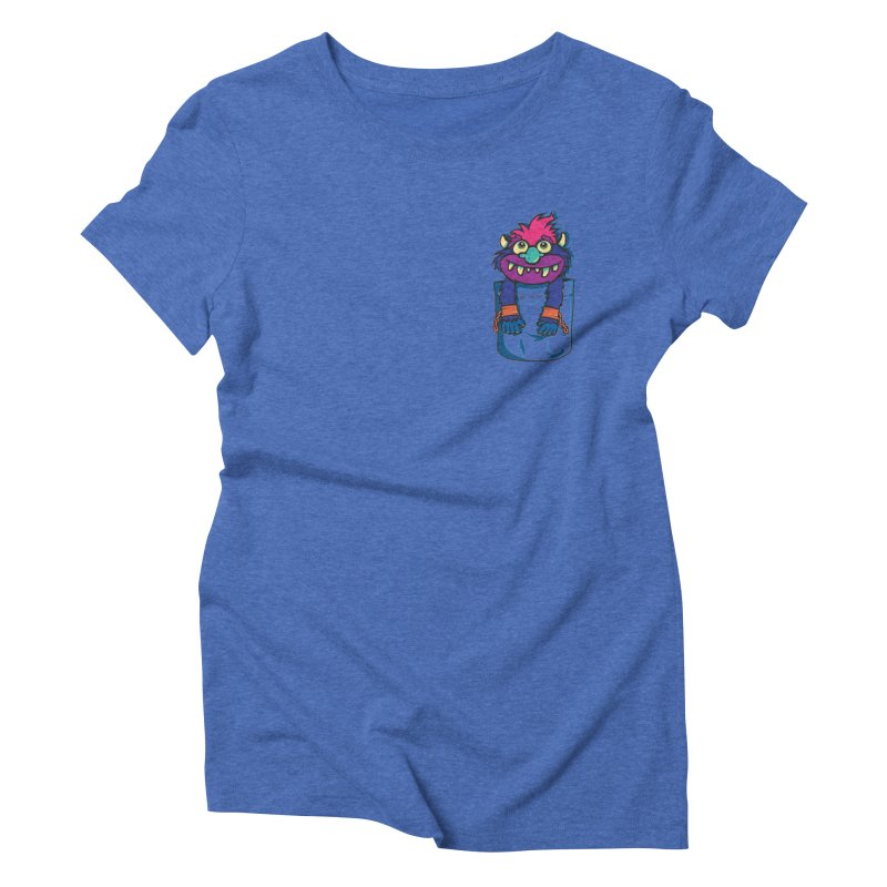 Monster In My Pocket Women's Triblend T-shirt by wotto's Artist Shop