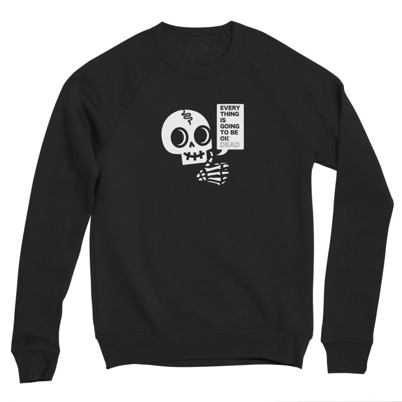 Not OK Men's Sweatshirt by wotto's Artist Shop