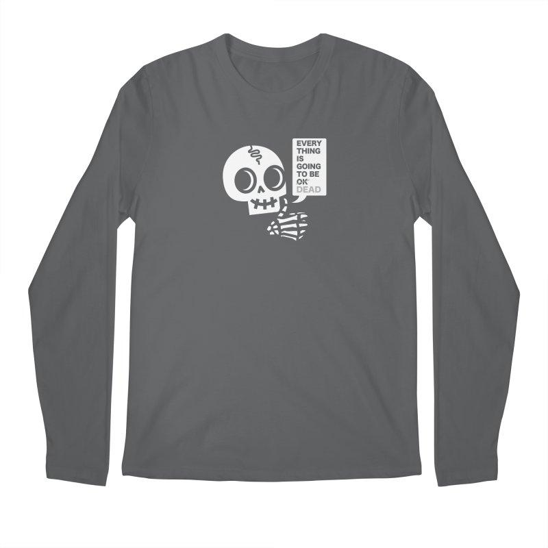 Not OK Men's Regular Longsleeve T-Shirt by wotto's Artist Shop