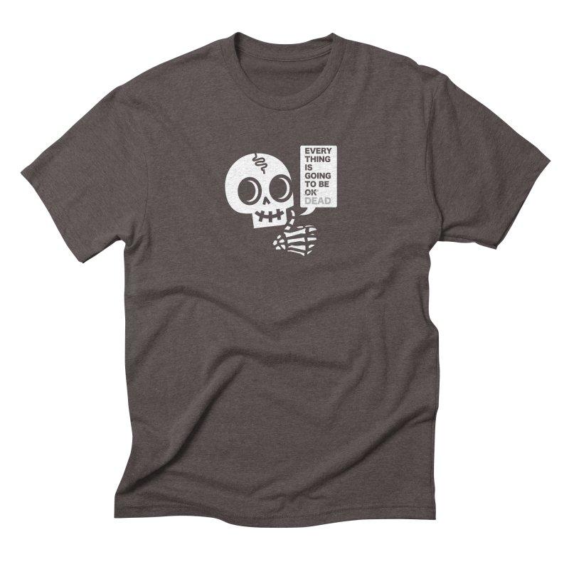 Not OK Men's Triblend T-Shirt by wotto's Artist Shop