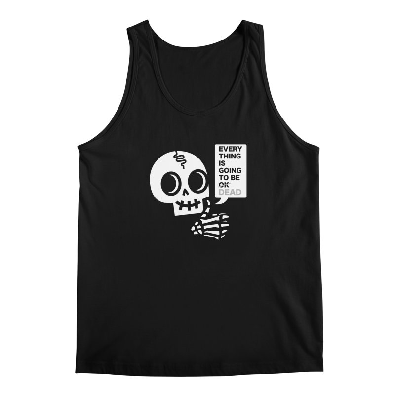 Not OK Men's Regular Tank by wotto's Artist Shop