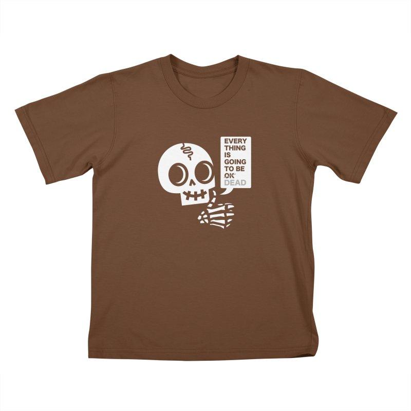 Not OK Kids T-Shirt by wotto's Artist Shop