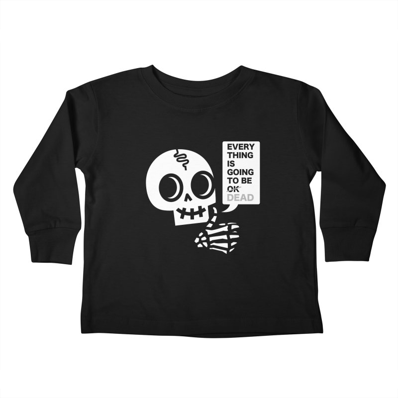 Not OK Kids Toddler Longsleeve T-Shirt by wotto's Artist Shop