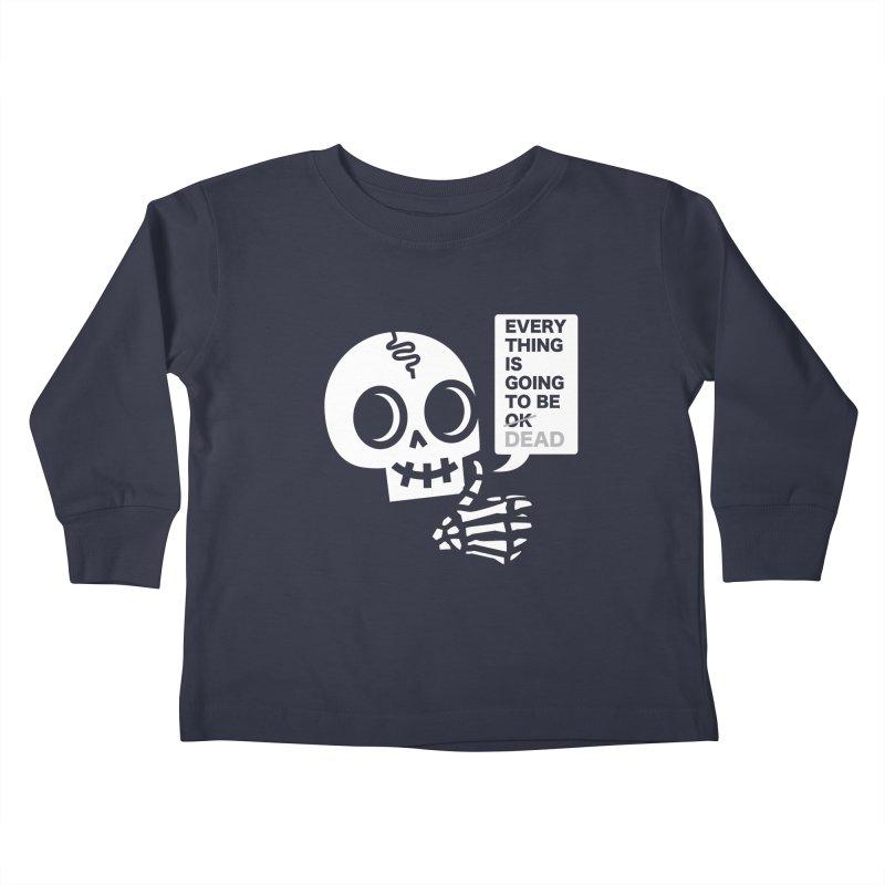 Not OK Kids Toddler Longsleeve T-Shirt by wotto's Artist Shop