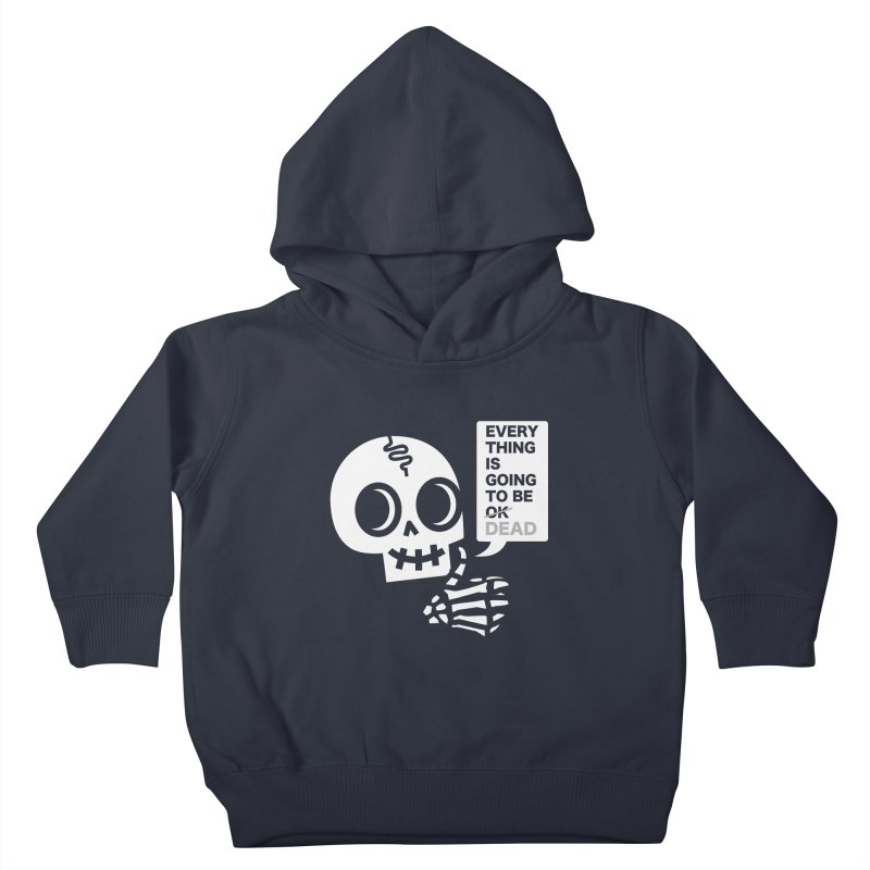 Not OK Kids Toddler Pullover Hoody by wotto's Artist Shop