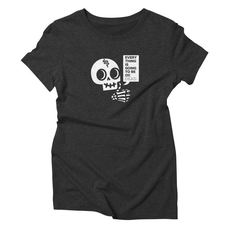 Not OK Women's Triblend T-Shirt by wotto's Artist Shop