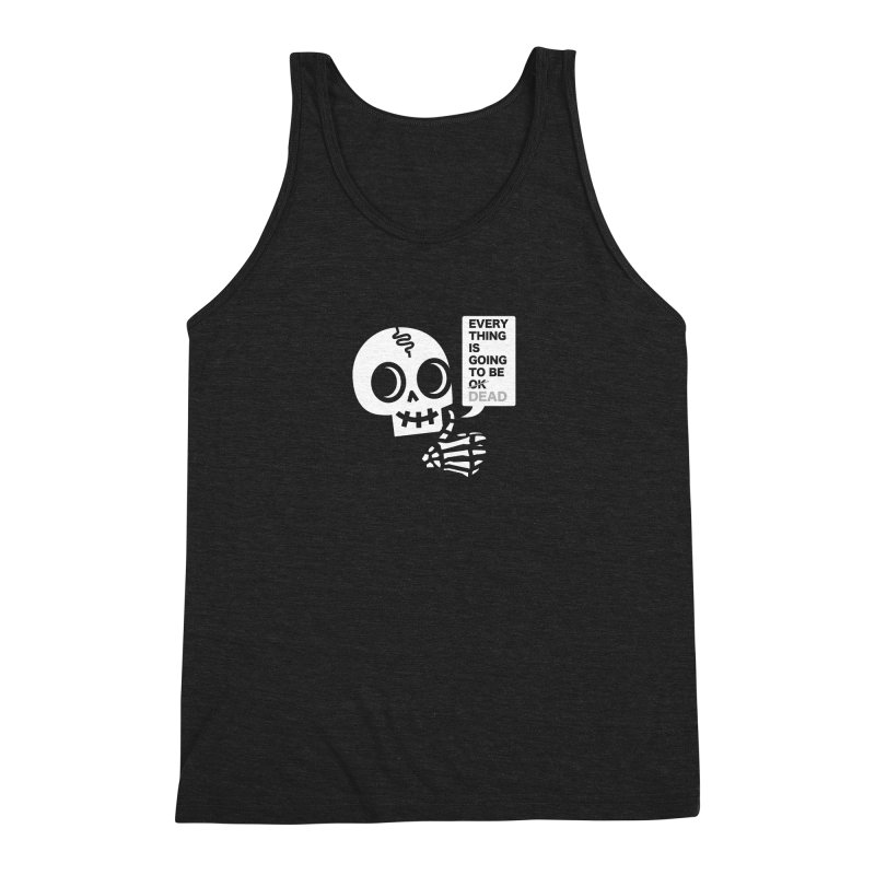 Not OK Men's Triblend Tank by wotto's Artist Shop