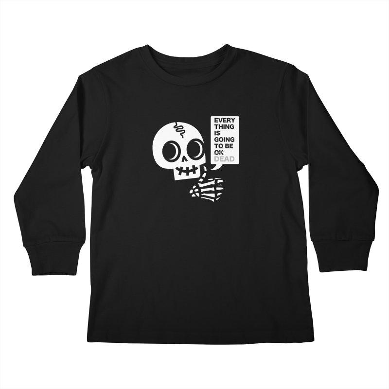 Not OK Kids Longsleeve T-Shirt by wotto's Artist Shop
