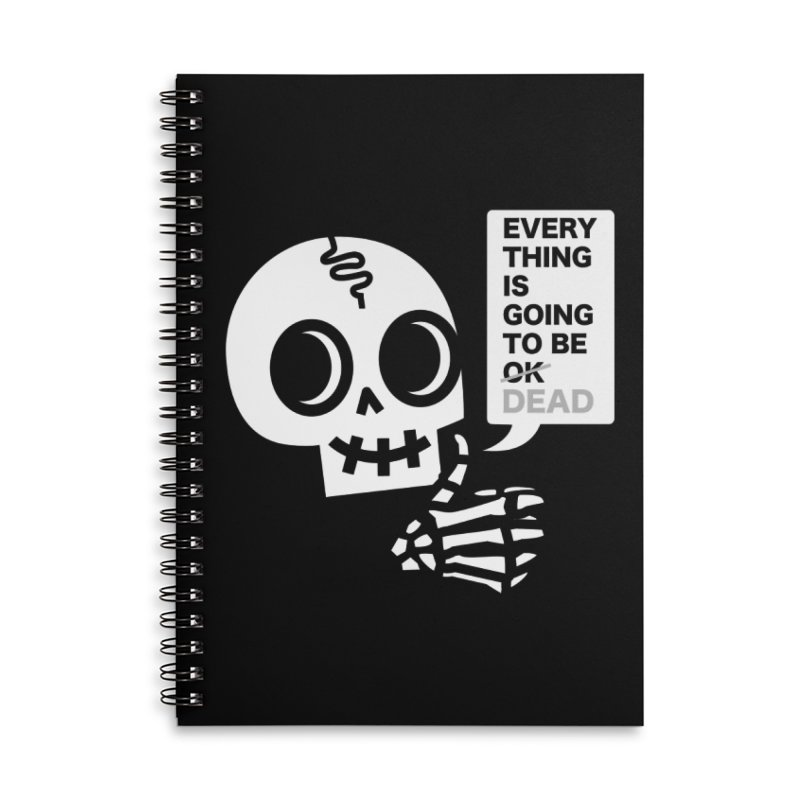 Not OK Accessories Notebook by wotto's Artist Shop