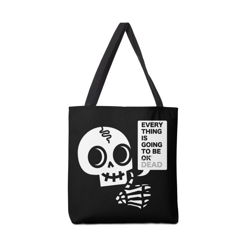 Not OK Accessories Tote Bag Bag by wotto's Artist Shop