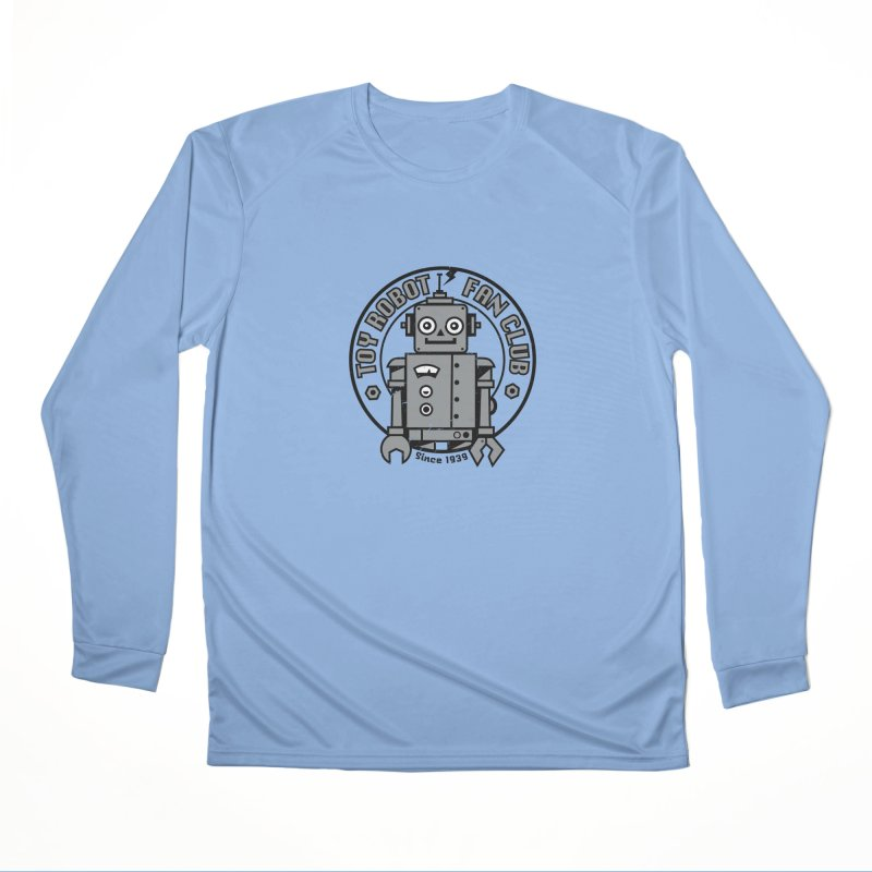 Toy Robot Fan Club Men's Longsleeve T-Shirt by wotto's Artist Shop