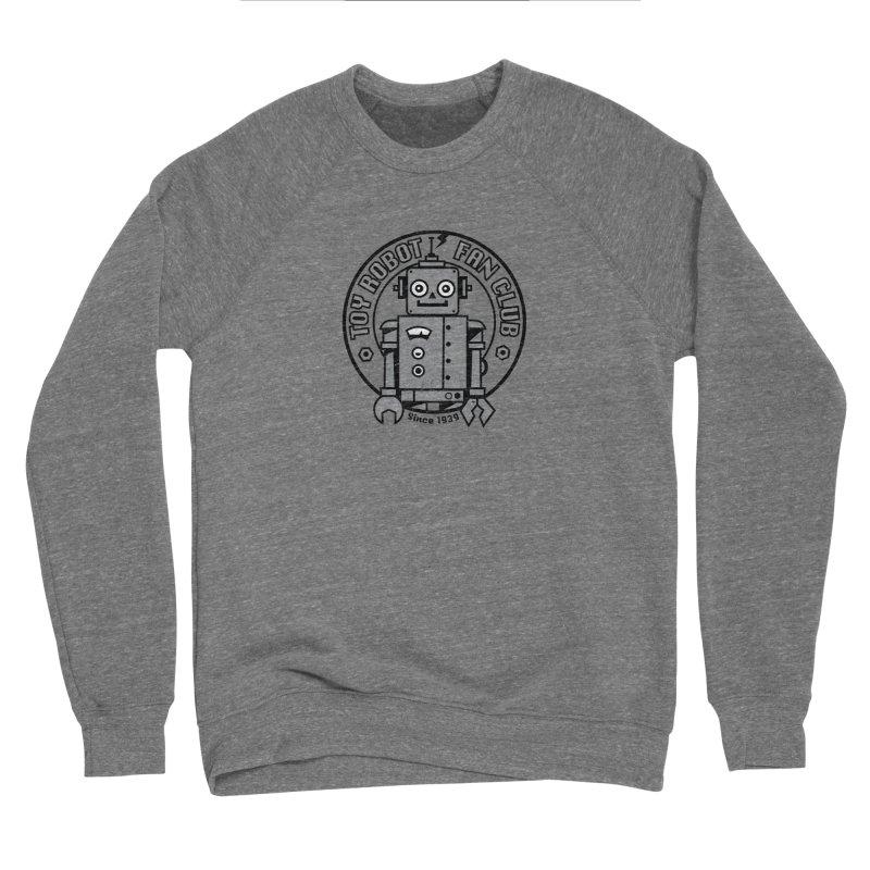 Toy Robot Fan Club Men's Sweatshirt by wotto's Artist Shop