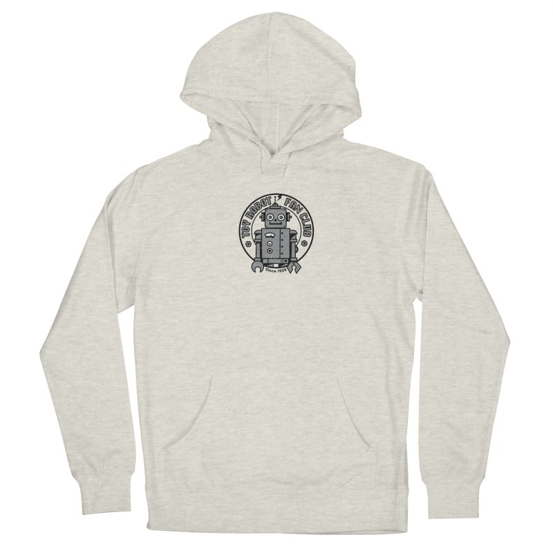 Toy Robot Fan Club Men's Pullover Hoody by wotto's Artist Shop