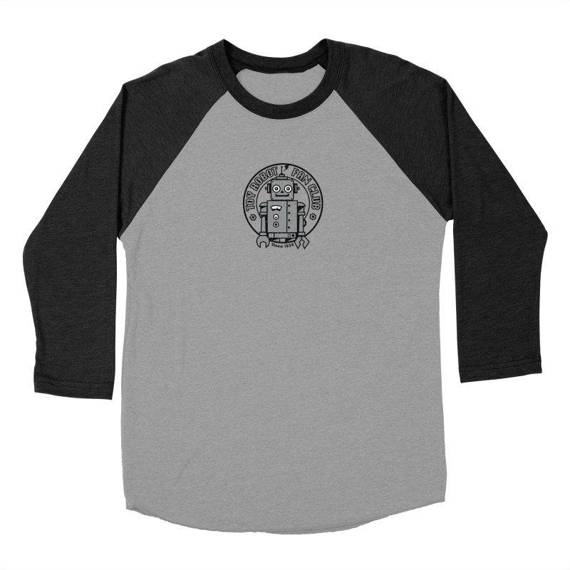 Toy Robot Fan Club Men's Baseball Triblend Longsleeve T-Shirt by wotto's Artist Shop