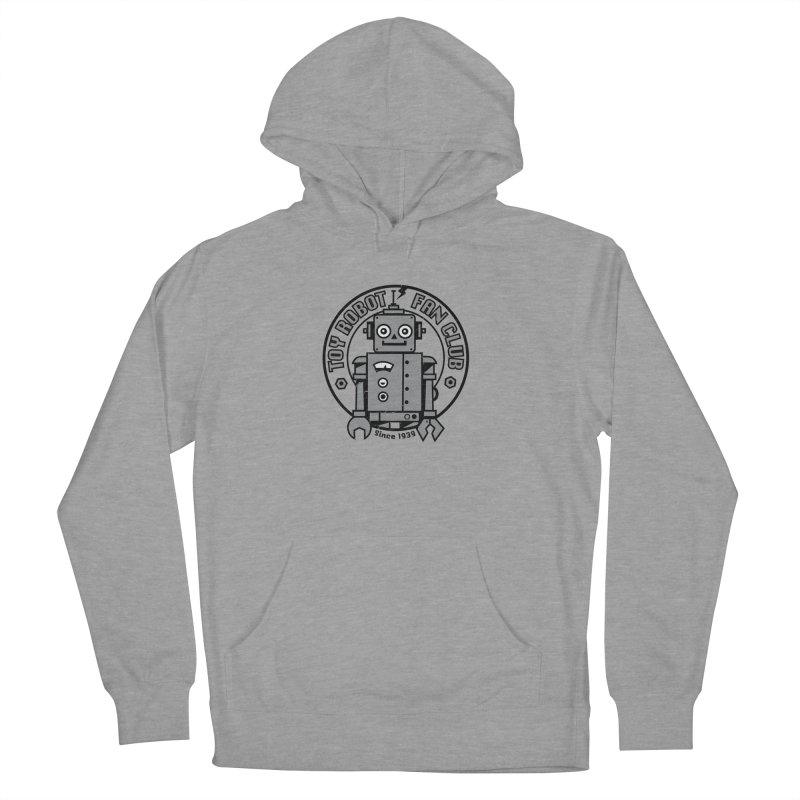 Toy Robot Fan Club Women's Pullover Hoody by wotto's Artist Shop