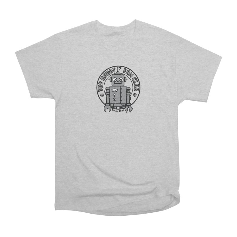 Toy Robot Fan Club Women's T-Shirt by wotto's Artist Shop