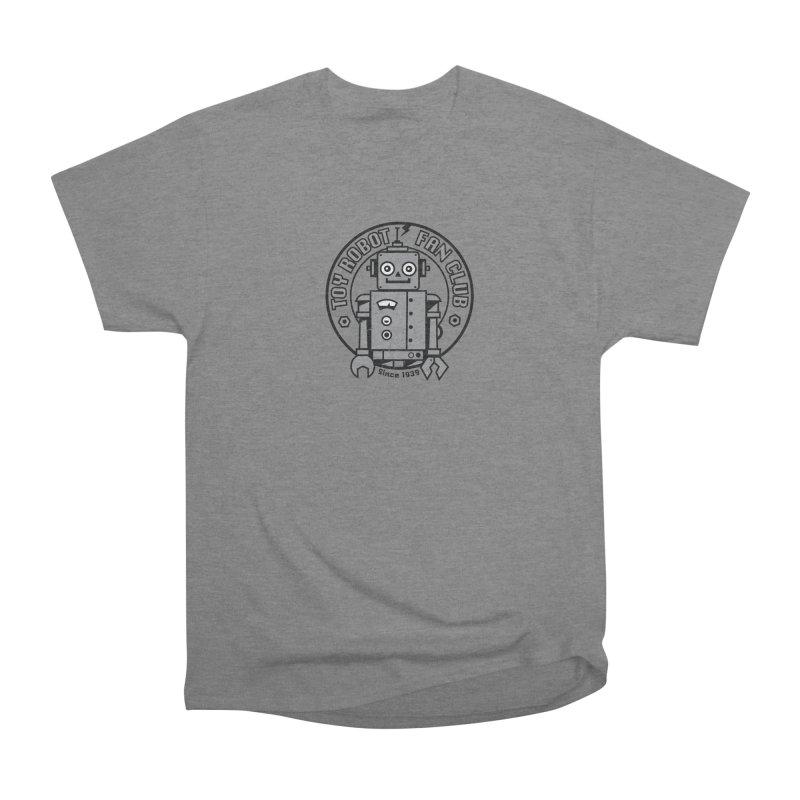 Toy Robot Fan Club Men's Heavyweight T-Shirt by wotto's Artist Shop
