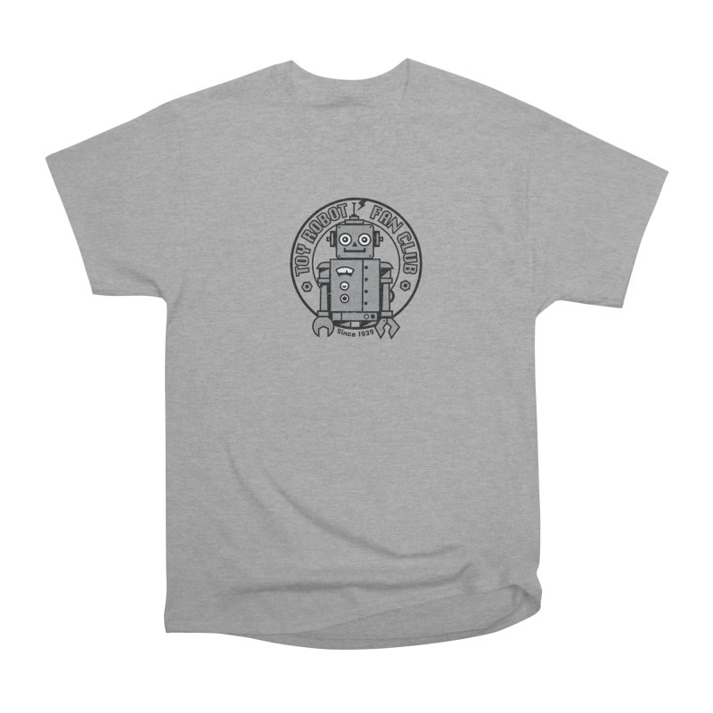 Toy Robot Fan Club Men's Heavyweight T-Shirt by wotto's Artist Shop