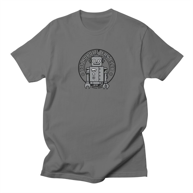 Toy Robot Fan Club Men's T-Shirt by wotto's Artist Shop