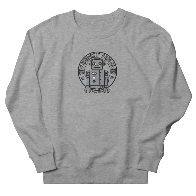 Toy Robot Fan Club Women's Sweatshirt by wotto's Artist Shop