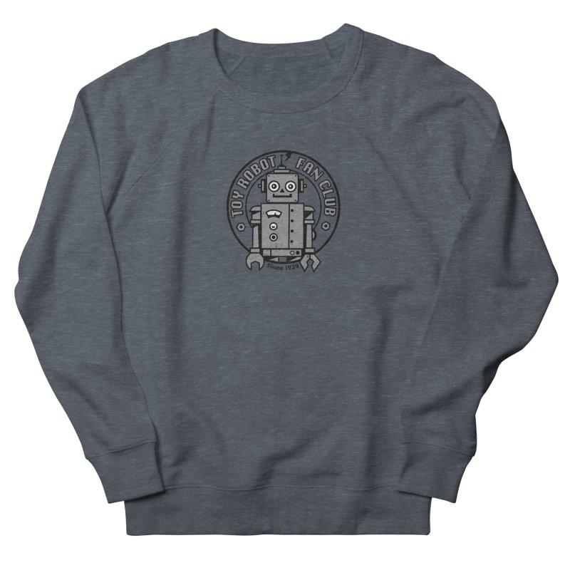 Toy Robot Fan Club Men's French Terry Sweatshirt by wotto's Artist Shop