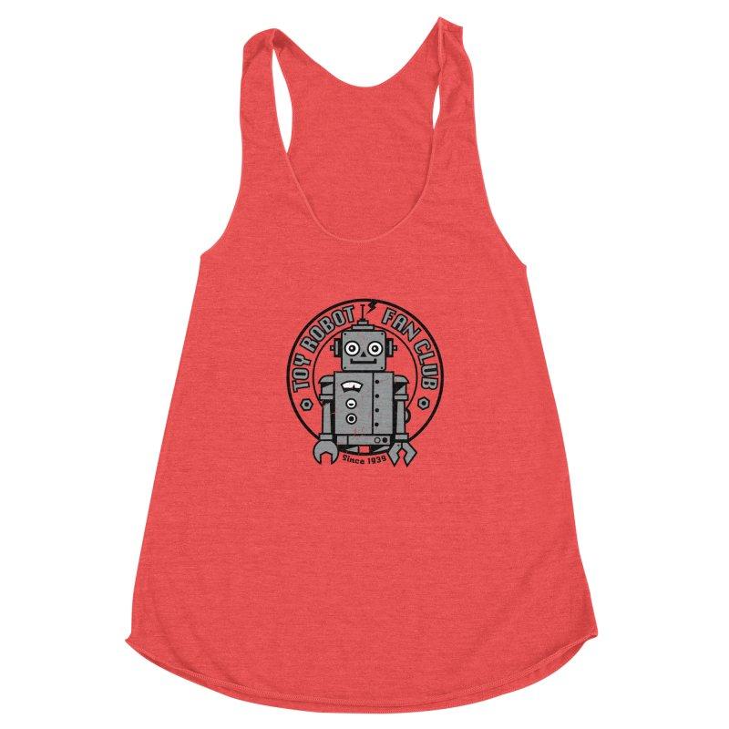 Toy Robot Fan Club Women's Tank by wotto's Artist Shop