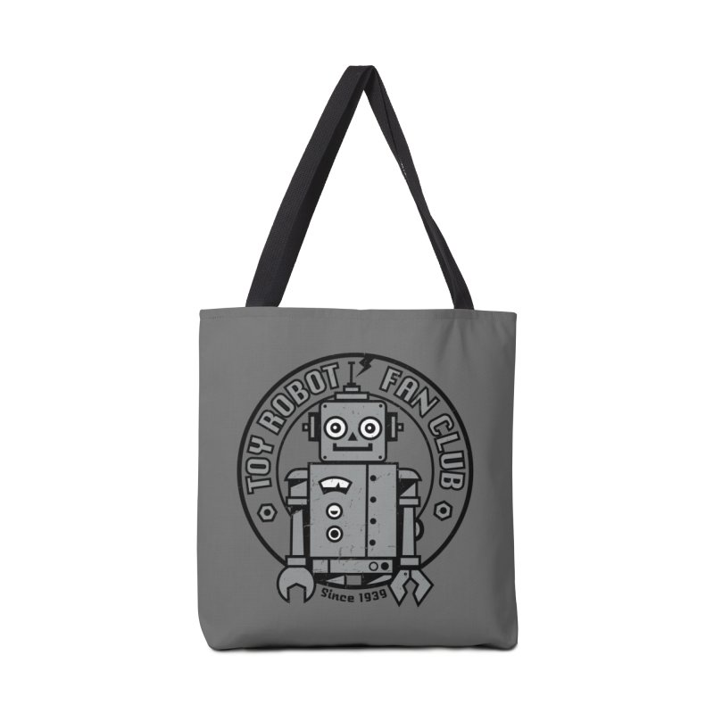 Toy Robot Fan Club Accessories Tote Bag Bag by wotto's Artist Shop