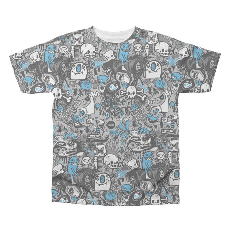 Guilty Pleasures Men's Triblend All Over Print by wotto's Artist Shop