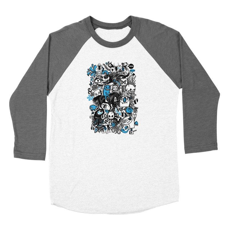 Guilty Pleasures Women's Baseball Triblend Longsleeve T-Shirt by wotto's Artist Shop