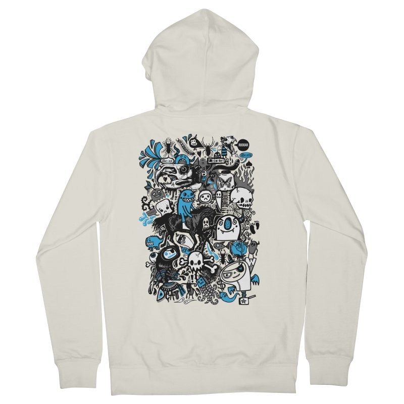 Guilty Pleasures Women's French Terry Zip-Up Hoody by wotto's Artist Shop