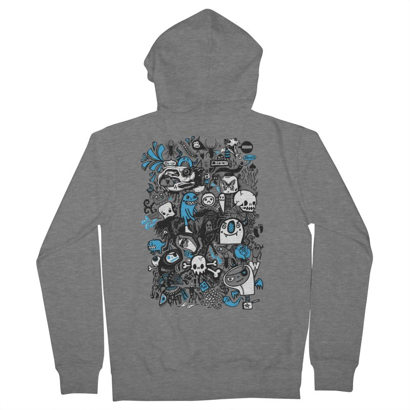 Guilty Pleasures Men's Zip-Up Hoody by wotto's Artist Shop