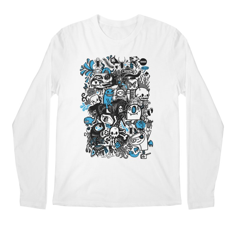 Guilty Pleasures Men's Regular Longsleeve T-Shirt by wotto's Artist Shop