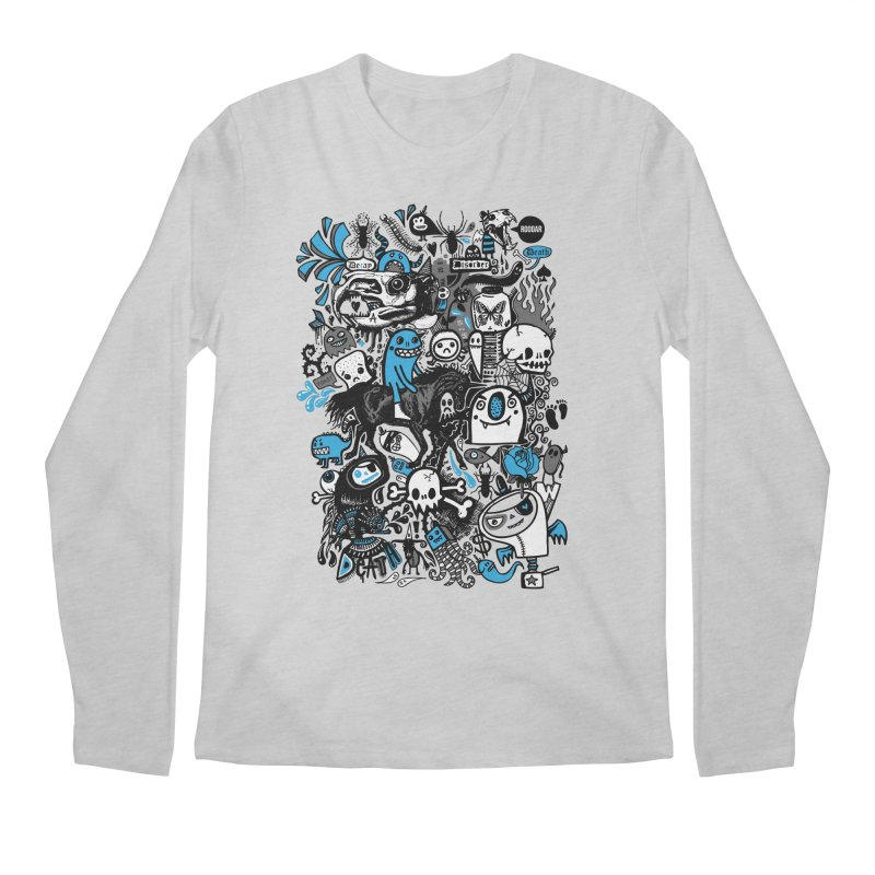 Guilty Pleasures Men's Longsleeve T-Shirt by wotto's Artist Shop