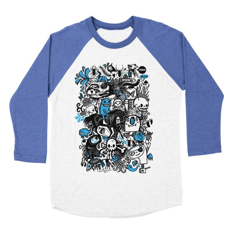 Guilty Pleasures Women's Baseball Triblend T-Shirt by wotto's Artist Shop