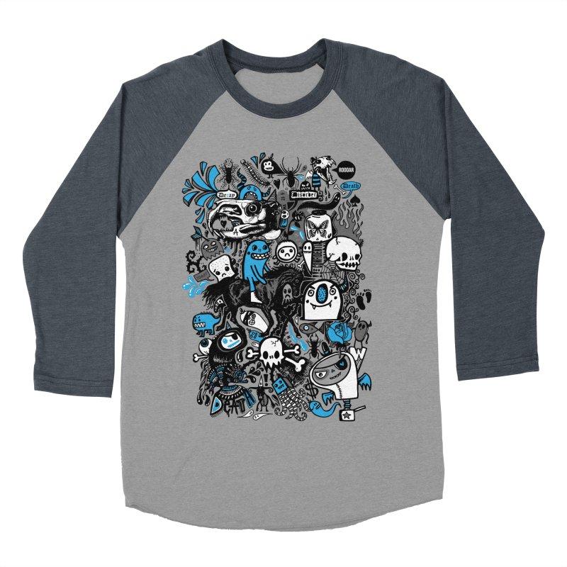 Guilty Pleasures Men's Baseball Triblend T-Shirt by wotto's Artist Shop