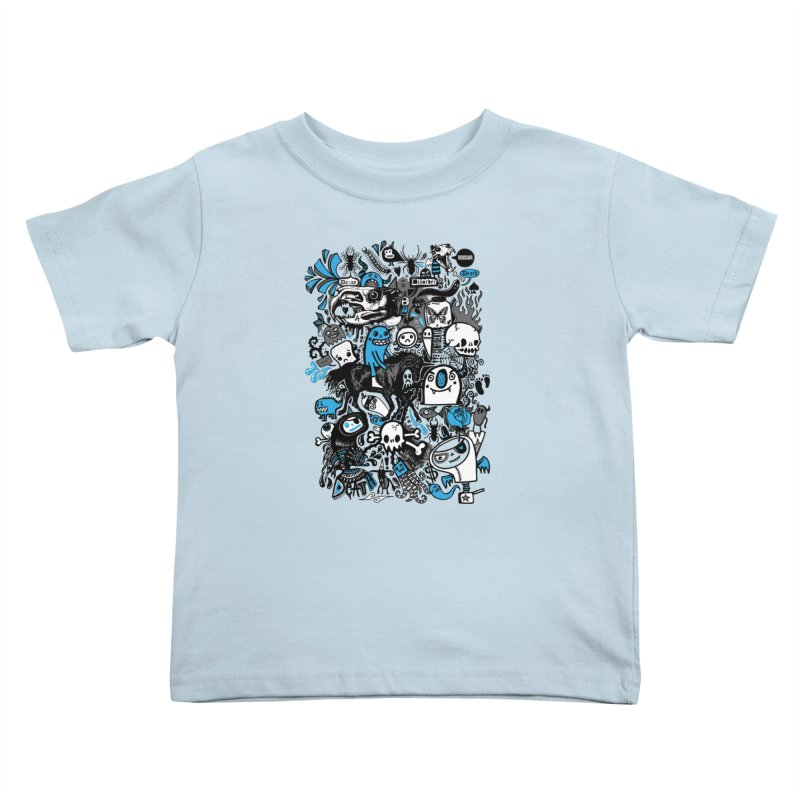 Guilty Pleasures Kids Toddler T-Shirt by wotto's Artist Shop