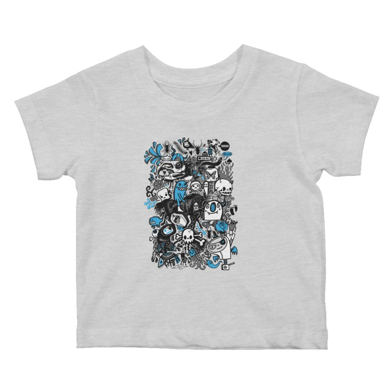Guilty Pleasures Kids Baby T-Shirt by wotto's Artist Shop