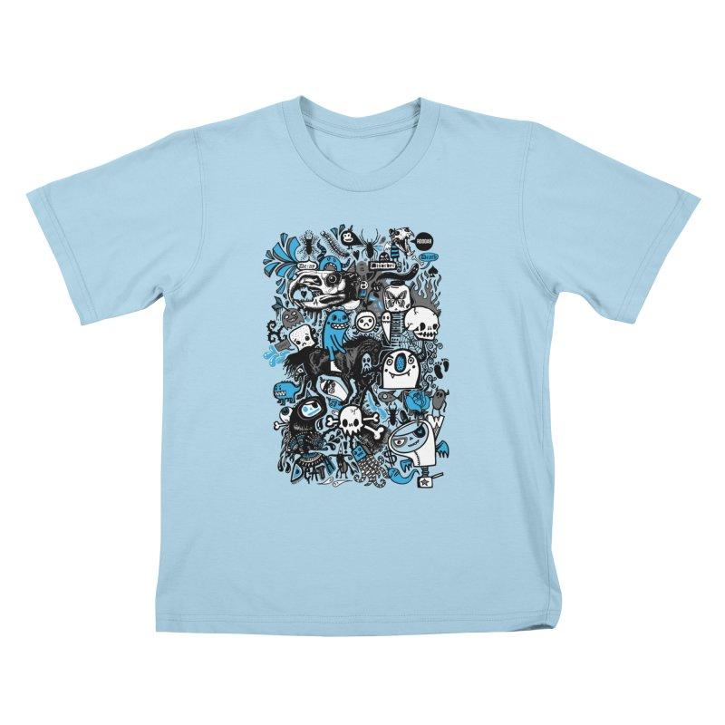 Guilty Pleasures Kids T-Shirt by wotto's Artist Shop