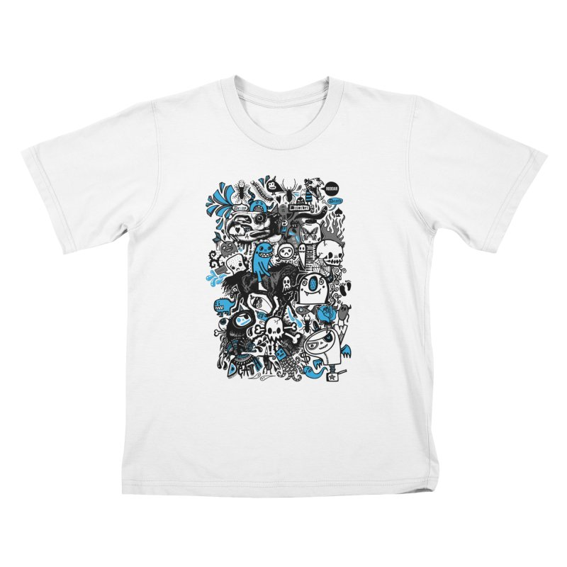 Guilty Pleasures Kids T-Shirt by wotto's Artist Shop
