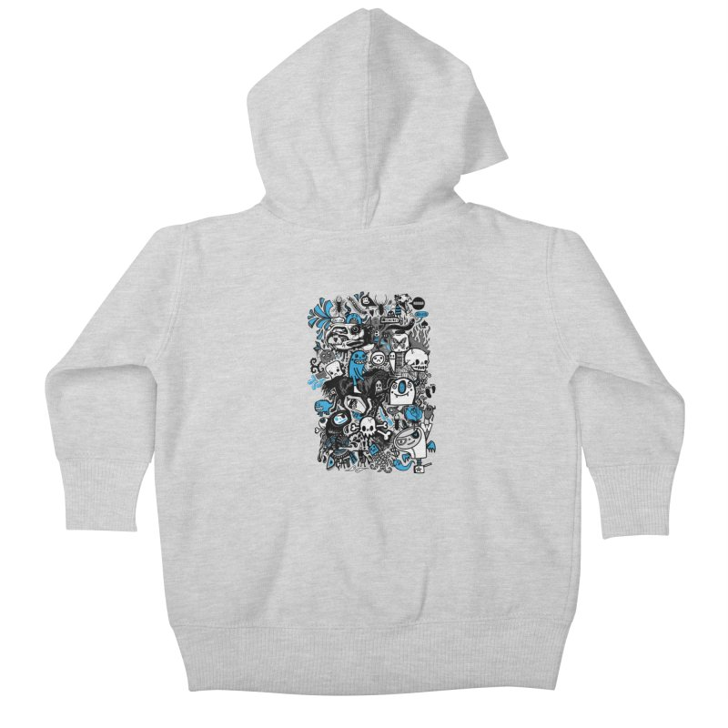 Guilty Pleasures Kids Baby Zip-Up Hoody by wotto's Artist Shop