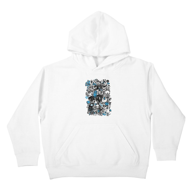 Guilty Pleasures Kids Pullover Hoody by wotto's Artist Shop