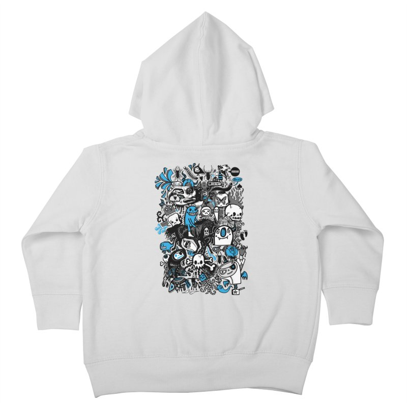 Guilty Pleasures Kids Toddler Zip-Up Hoody by wotto's Artist Shop