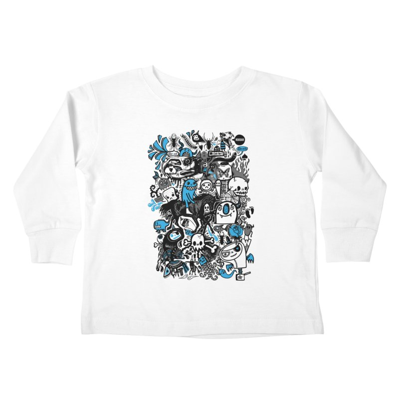Guilty Pleasures Kids Toddler Longsleeve T-Shirt by wotto's Artist Shop
