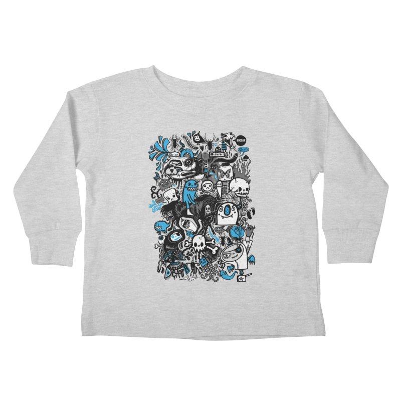 Guilty Pleasures Kids Toddler Longsleeve T-Shirt by wotto's Artist Shop