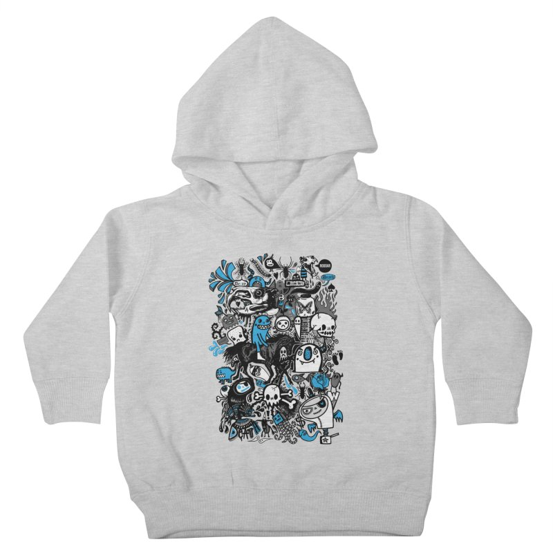 Guilty Pleasures Kids Toddler Pullover Hoody by wotto's Artist Shop