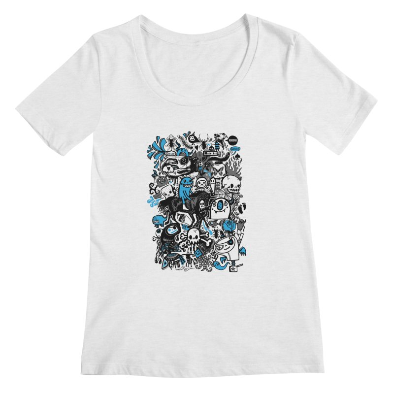 Guilty Pleasures Women's Regular Scoop Neck by wotto's Artist Shop
