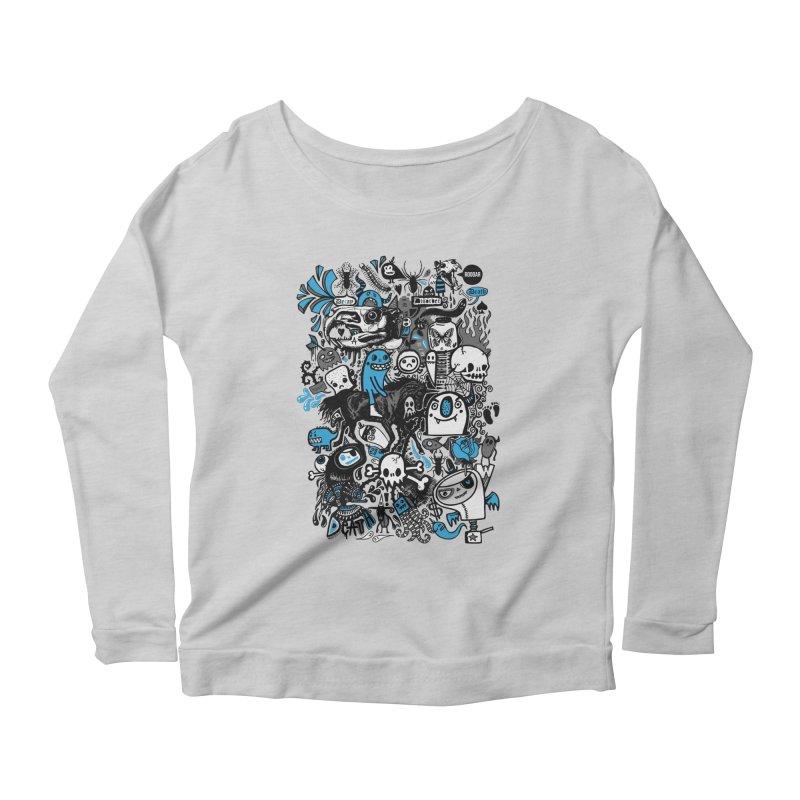 Guilty Pleasures Women's Scoop Neck Longsleeve T-Shirt by wotto's Artist Shop